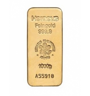 Zlaté slitky - 1000 g