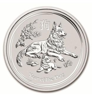 Australian Lunar II dog 2 Oz 2018