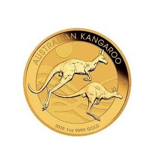 Australian Kangaroo 1/2 Oz