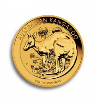 Australian Kangaroo 2021 1 Oz