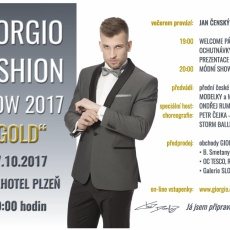 Giorgio fashion show 2017 GOLD