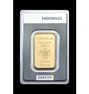 Zlaté slitky - 31,1 g