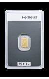 Zlaté slitky - 1 g