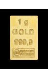 Zlatá plaketa 50 x 1g