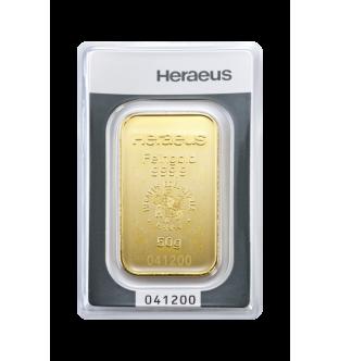 Zlaté slitky - 50 g