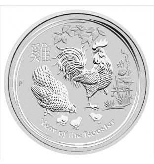 Australian Lunar II rooster 2017 2 Oz